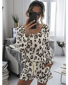 Dresswel Women Graphic Printed Home Wear Set Pajamas